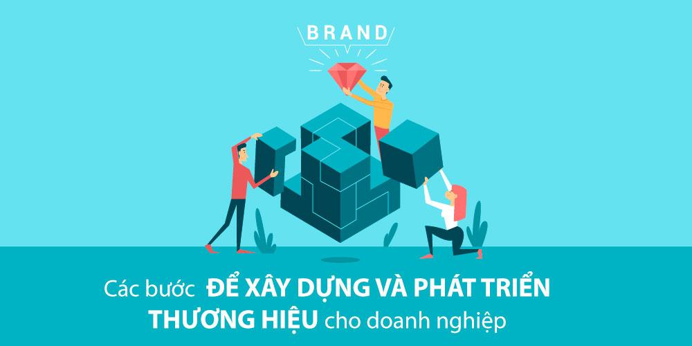 Các bước để xây dựng & phát triển thương hiệu cho Doanh nghiệp