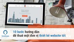 đơn vị thiết kế web