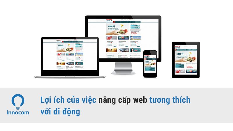 Nâng cấp web