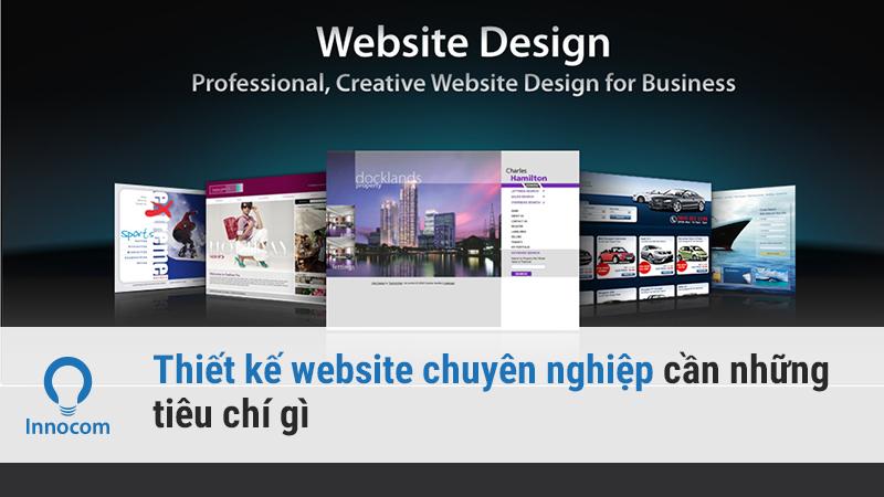 web chuyên nghiệp