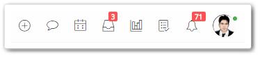 Icons trong bản cập nhật mới