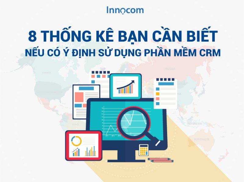 8 thống kê CRM đáng kinh ngạc - Tại sao doanh nghiệp phát triển mạnh?