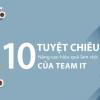 10 Tuyệt chiêu nâng cao hiệu quả làm việc của team IT