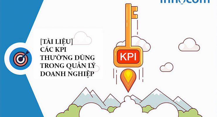 {Tài liệu] Các KPI thường dùng trong quản lý doanh nghiệp