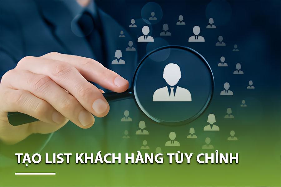 Hướng dẫn tạo list khách hàng tùy chỉnh trong Vtiger