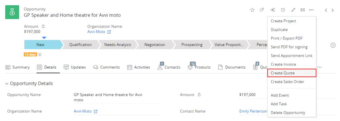 Công cụ dự báo bán hàng hiệu quả trên Vtiger CRM